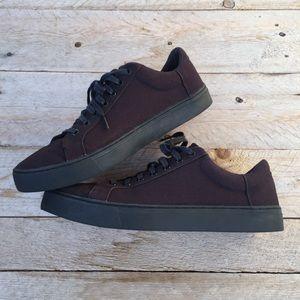 Toms Men's Black Canvas Sneakers
